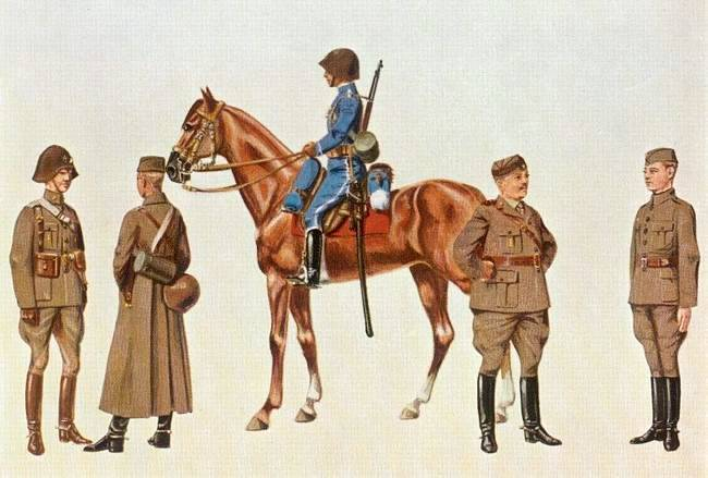 Husaři roku 1911